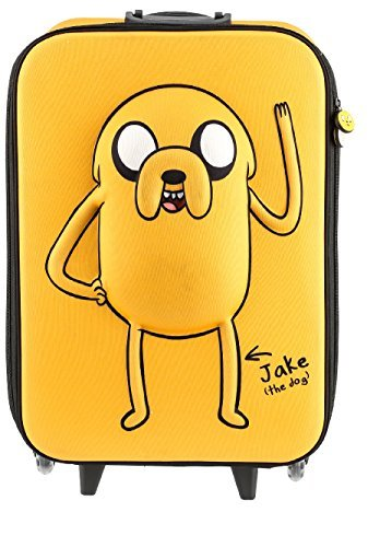 Adventure Time 3313 Jake 3D Dog Carry, 18 in. by Adventure Time Luggage
