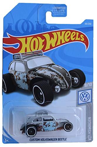 Hot Wheels Volkswagen Series 8/10 Custom Volkswagen Beetle 69/250, Gray