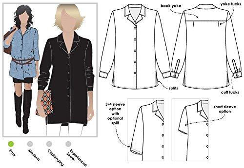ARC Style Naaipatroon - Jane Over Shirt