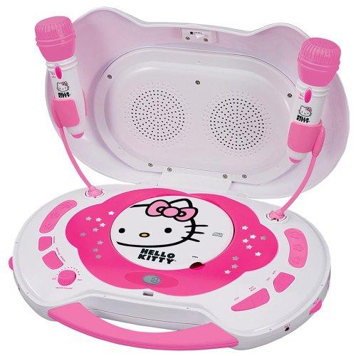 Hello Kity KT2003A Hello Kitty CD Karaoke System/CD Player