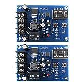 Carga de la batería del módulo de conmutador Junta XH-M603 12-24 Cargo de control universal de la protección del voltaje 2 piezas de visualización