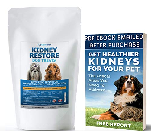 Kidney Restore Dog Treats: Restorative Dog Treats for Kidney Issues, Low Protein Dog Treats for Any Kidney Diet Dog Food, Special Renal Treats for Supporting Good Kidney Health for Dogs. Best Treat!