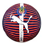 PUMA 594_01 camisa y camiseta Poliéster - 08300801, Balón de fútbol con licencia oficial., 5, Puma New Navy-Puma Red-Puma Blanco