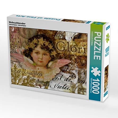 CALVENDO Puzzle Weihnachtszauber 1000 Teile Lege-Größe 64 x 48 cm Foto-Puzzle Bild von Christine Brendle-Behnisch Müller