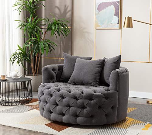 Modern Akili Swivel Accent Chair