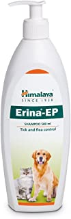 Himalaya Pupkart Antimicrobial/Antifungal/Tick and Flea Control Erina-EP Shampoo for Dogs and Cats with Pet Sutra Complime...