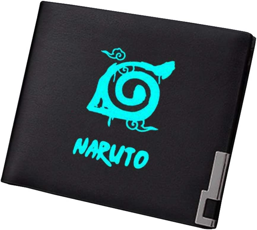 Gumstyle Naruto Anime Luminous Artificial Leather Wallet Billfold Money Clip Bifold Card Holder 11