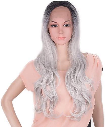 WEATLY 26 Costume de Perruque Cosplay Perruque Cosplay Perruque Blonde Longue Devant Dentelle Perruque Longue (Couleur   Blonde, Taille   26 )