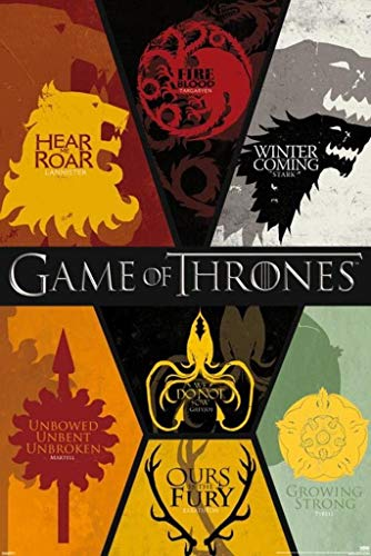 Game of Thrones (Sigilli) Poster(11x17inch,28x43cm)