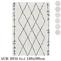 ラグ AUV No.2 rug 130×190cm マット 絨毯 じゅうたん カーペット TypeE