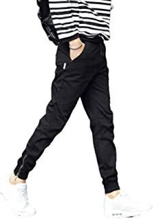 N/ A Men`s Trousers Casual Trousers Adjustable Ankle Opening Sport Casual Slim Fit