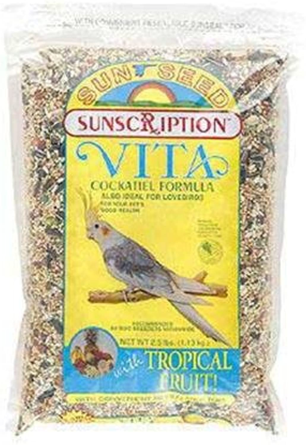 Cockatiel Vita  mix 2lb (6pc) (Catalog Category  Bird   Seedbagged)