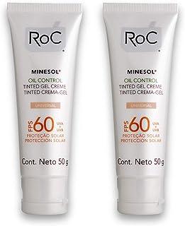 Kit com 2 Protetores Solar ROC Oil Control 50g
