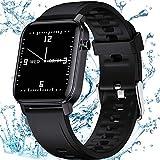 Smartwatch para Hombre Mujer, 1,4 pulgadas Reloj Inteligente Impermeable IP68 con Pulsómetro, Monitor de Sueño, Podómetro Pulsera Actividad Inteligente Smartwatch Reloj Deportivo para Android iOS
