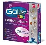 Clementoni 69159 Galileo Kids – Das große Wissens-Quiz, Frage-Antwort-Spiel ab 7 Jahren, lehrreiches Kartenspiel, Allgemeinwissen & Spaß für die ganze Familie