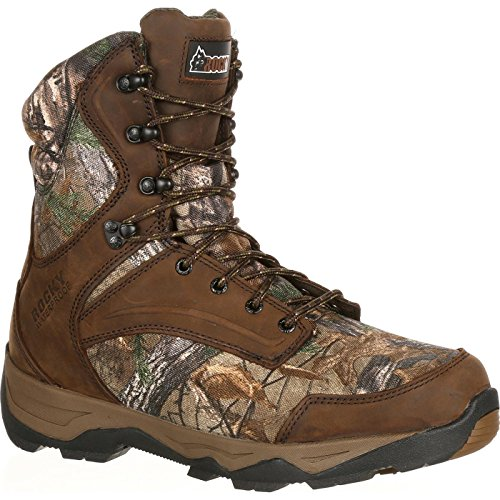 ROCKY Men's RKS0227 Mid Calf Boot, Realtree Xtra, 10.5 M US