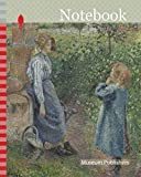 Notebook: Woman and Child at the Well, 1882, Camille Pissarro, French, 1830-1903, France, Oil on canvas