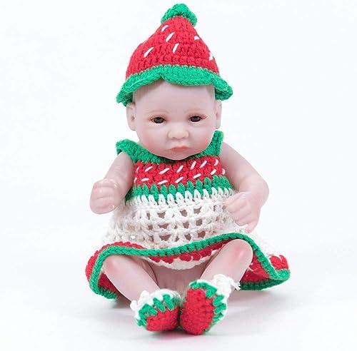 Envío y cambio gratis. Hongge Hongge Hongge Reborn Baby Doll,Realista de Silicona muñeca Renacimiento Juguetes Regalo 28cm  Precio al por mayor y calidad confiable.