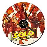 MasTazas Han Solo Una Historia De Star Wars Solo A Star Wars Story Reloj CD Clock 12cm