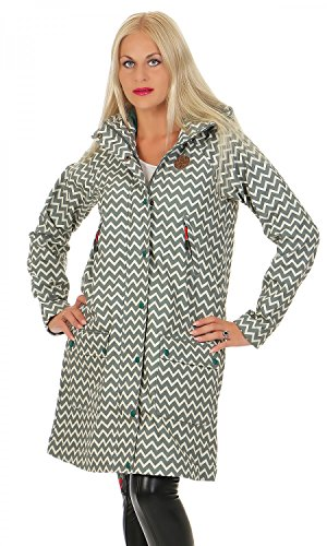 BLUTSGESCHWISTER - WILD WEATHER PARKA - Damen Jacke, Farbe:Grau (upper class);Größe:L