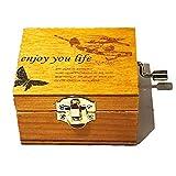 オルゴール オルゴール ミュージックボックス 軽量 DIY 結婚式 誕生日 装飾 プレゼント 音楽ボックス LCLJP (Color : Landscape, Size : フリー)
