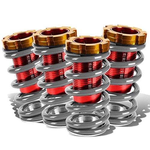 DNA Motoring COIL-HC88-T11-BK Kit de bobina sobre manga, Plateado