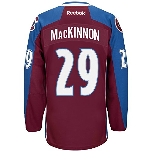 Reebok Colorado Avalanche Mens Size Small Nathan MacKinnon #29 Premier Jersey Maroon HAMZ 386 S