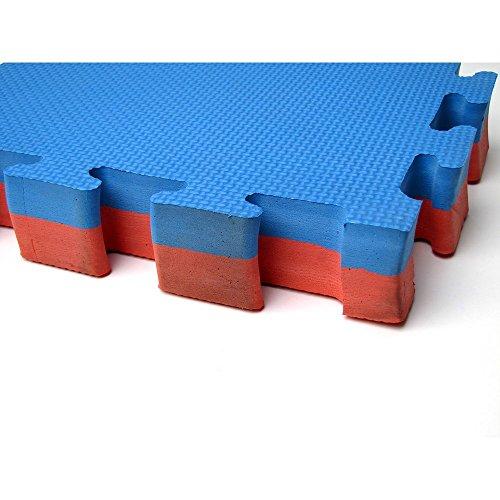 YariNoHanzo Suelo Tatami Puzzle | Grosor 4 cm | 5 m2 | Karate Taekwondo Judo