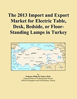 The 2013 Import and Export Market for Electric Table, Desk, Bedside, or Floor-Standing Lamps in Turkey