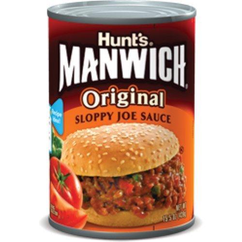Hunt's Manwich Original Sloppy Joe Sauce, 439g - (2 Packs)