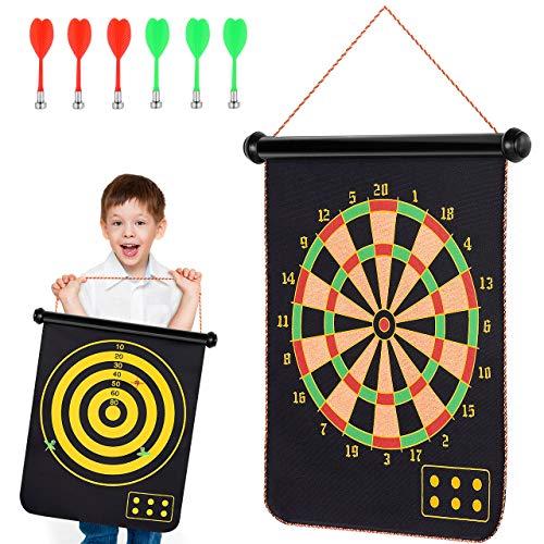 ATOPDREAM Spielzeug für Jungen 4-15 Jahre, Dartscheibe Outdoor Spiele für Kinder Jungen Geschenke Weihnachts Geschenke für Kinder 5-12 Jahre 4-15 Party Jahre Geschenke für Mädchen ab 4-15 Jahre