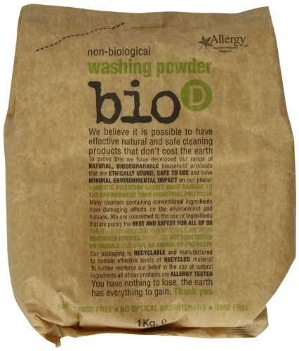 Bio D Washing Powder Concentrated 1 kg (Pack of 3