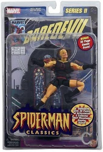 El ultimo 2018 Spiderman Spiderman Spiderman Classics amarillo Darojoevil Chase by Toy Biz  ventas directas de fábrica