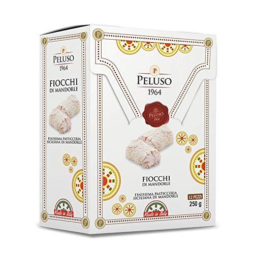 Sicilia Bedda - Paste di Mandorla Siciliane 42% - Fiocchi di Dolci di Mandorla - Gr.250