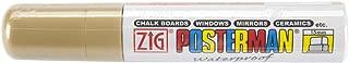 Zig 15mm Posterman Tip Marker, Gold