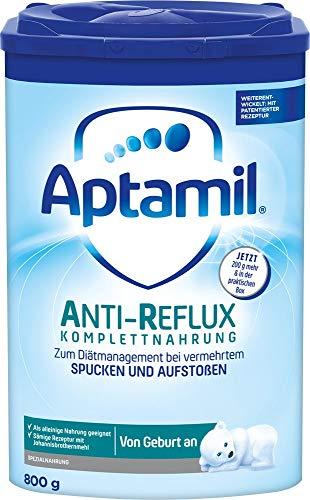 Aptamil AR Komplettnahrung Anti-Reflux ab dem 1. Fläschchen von Geburt an, 2er Pack (2x800g)