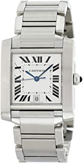 Cartier Tank Francaise Automatic-self-Wind Male Watch 2302 (Certified Pre-Owned)