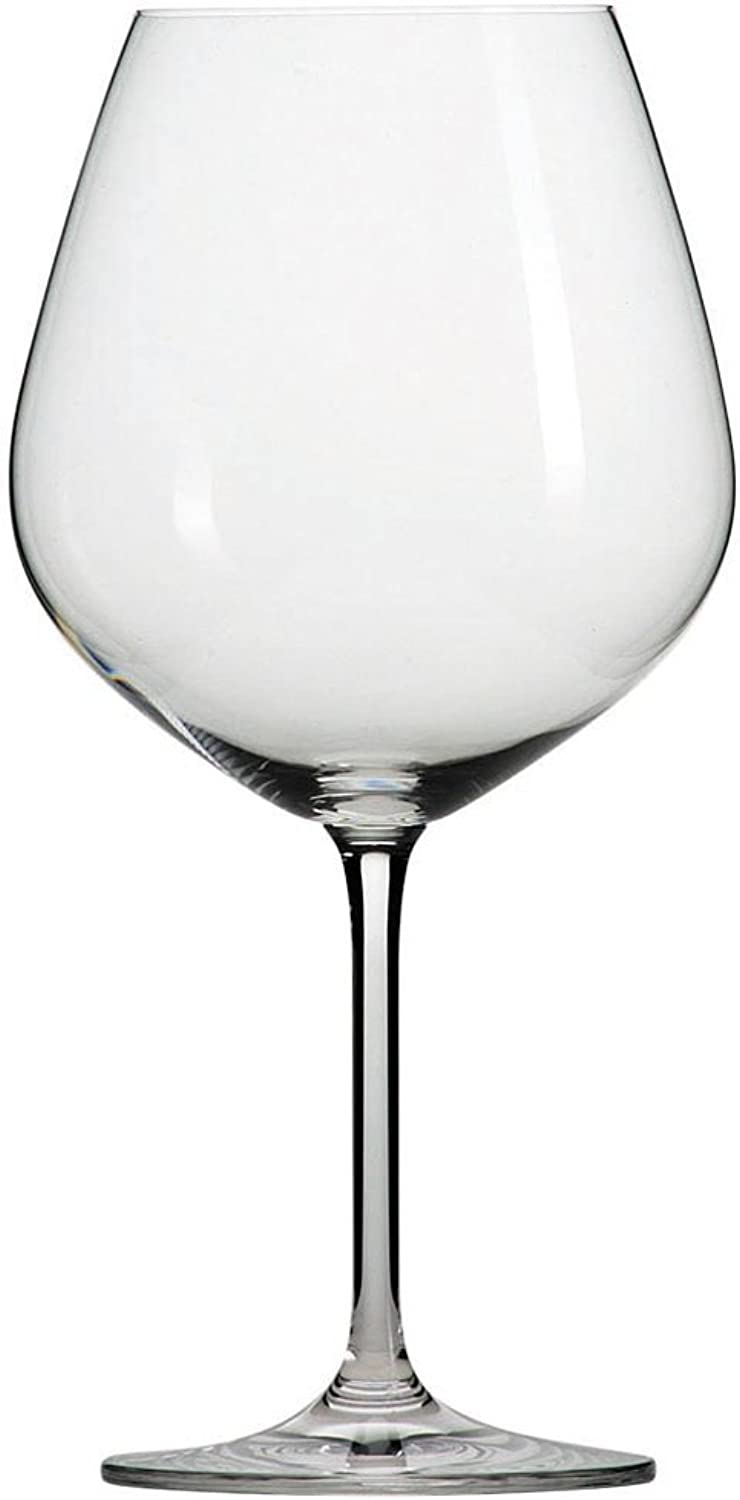 Schott Zwiesel Tritan Crystal Glass Forte Stemware Collection Claret Burgundy Red Wine Glass, 25-Ounce, Set of 6