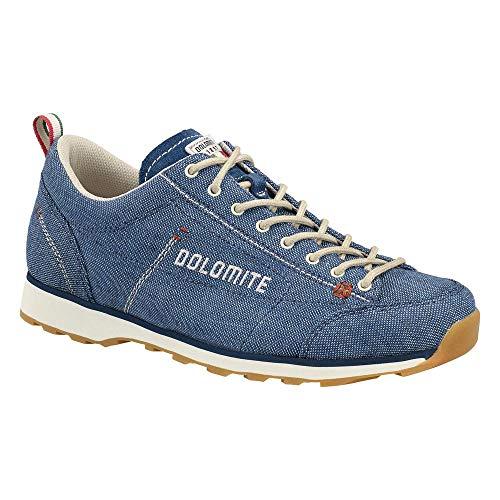 Dolomite Damen Zapato Cinquantaquattro LH Canvas WS Schuhe, Denim Azul/CANAPA BEIGE, 41.5 EU