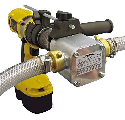 ZUWA UNISTAR 2001-B; Impellerpumpe m. Adapter f. Bohrmaschine - 110130AB