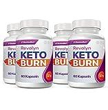 Revolyn Keto Burn - Diätpille für effektiven Gewichtsverlust | Lieferung nach DE-AT nur 3 Tage (mit DPD) | (4 Flaschen)