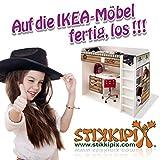 Stadt/City/Auto/Straße Möbelfolie/Aufkleber - LCK05 - passgenau für den Lack Couchtisch (90 x 55 cm) von IKEA - In wenigen Minuten zum einzigartigen Spieltisch für Kinder! (Möbel Nicht inklusive) - 2