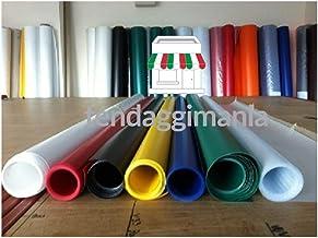 PVC-zeil met hoog gewicht 680 g/m², 100% waterdicht, vuurvast, uv-bescherming, winddicht, regenbestendig, scheurvast, in v...