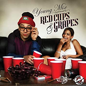 Red Cups and Grapes