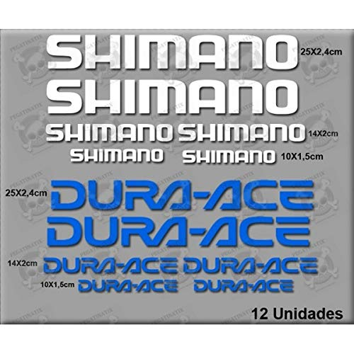 MTB Shimano Dura-Ace Stickers Decals AUFKLEBER Pegatinas AUTOCOLLANT Full Color