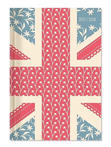 """Diario agenda scuola collegetimer """"Bandiera Regno Unito"""" 2017/2018 - Giornaliera - 352 pagine - 15x21 cm"""
