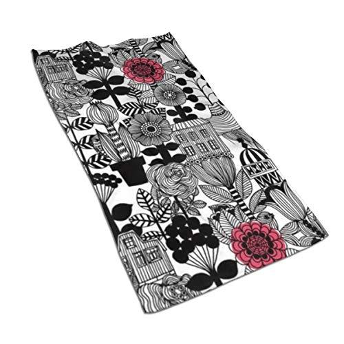 Jacklee Marimekko Stuk Haar Drogen Handdoek Ultra Water Absorberende Twist Haar Turban Drogen Haar Wrap 40x70cm