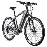 28 Zoll Leader Fox Exeter Gent Cross E-Bike 2021-2 Pedelec 540 Wh 9 Gang RH 52