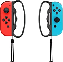 Non-Slip Hand Grip for Nintendo Switch Joy-Con Fitness Boxing Game Controller, Boxing Handle Grips Accessories for Switch Games with Lanyard