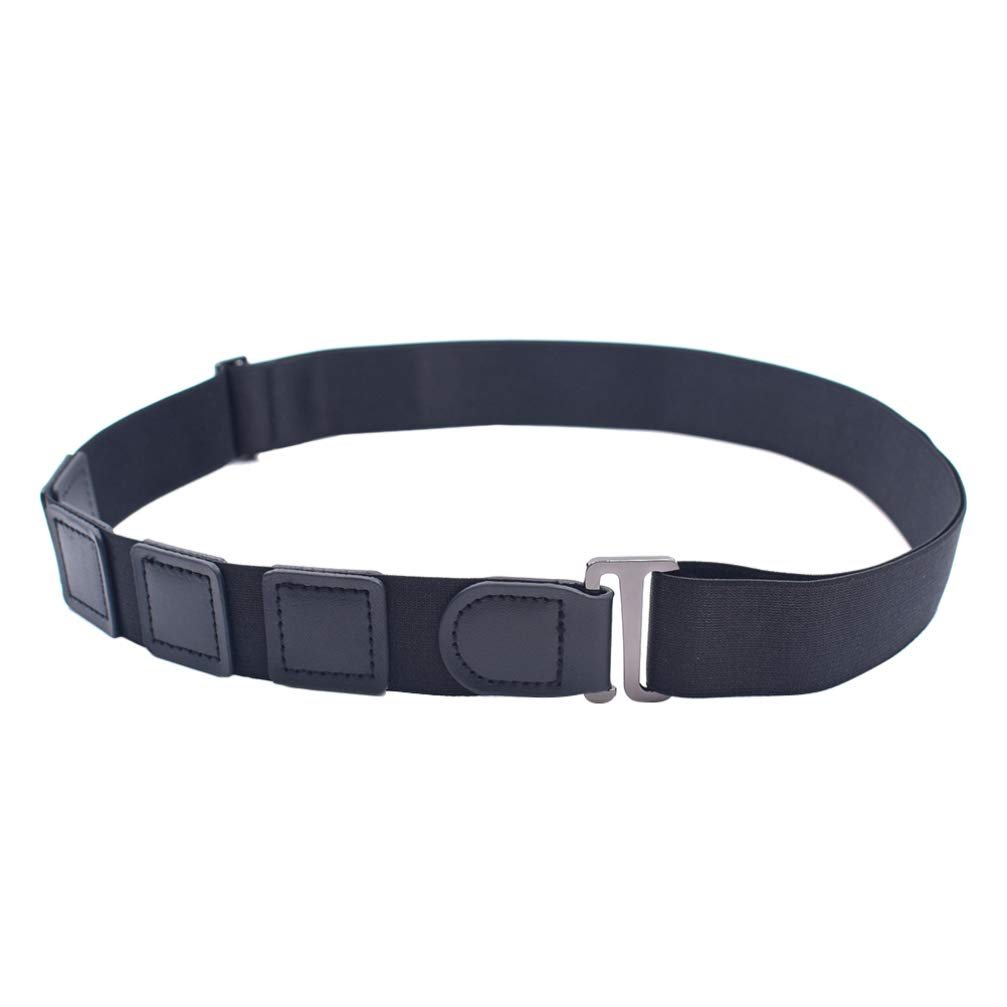 HEALLILY 1pc Unisex Men Shirt Stays Shirt Lock Belt Non-Slip Adjustable Anti-crease
